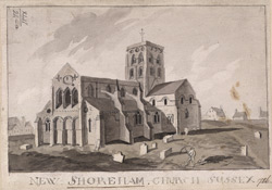 New Shoreham church, Sussex